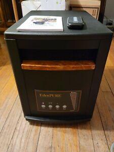 EdenPURE Gen 3 Quartz Infrared Portable Large Heater 1500 Watt Model: A4136