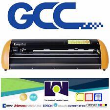New Gcc Expert Lx 24 Vinyl Cutter Plotterstand Free Software Free Shipping