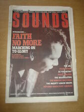 SOUNDS 1988 JANUARY 23 FAITH NO MORE STONE ROSES ZZ TOP PUSSY GALORE DEPECHE