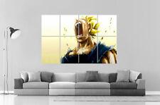 Dragon Ball Vegeta Super Saiyan  ANIME  Wall Poster Grand format A0 Large Print