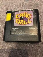 Crüe Ball: Heavy Metal Pinball (Sega Genesis, 1992) Working Game Only