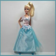 Genuine Barbie FASHION Gown Swan Lake PRINCESS and Matching Heels
