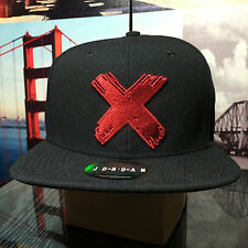 Nike Air Jordan Retro 1 Banned X Snapback Hat Cap Black Red 865916 010