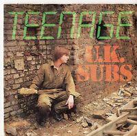 "UK Subs - Teenage 7"" Single 1980 / Pink Vinyl"