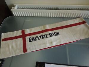 Lambretta Scarf 100% Acrylic Red & Cream