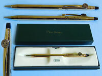 Bill Clinton Presidential Seal White House Cross gift pen Gold plated Authentic