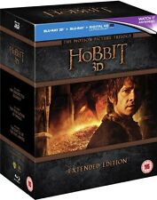 The Hobbit Trilogy 3D - Extended Edition (Blu-ray) *BRAND NEW*