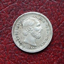 Netherlands 1876 silver 5 cents