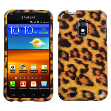 For US Cellular Samsung Galaxy S II HARD Protector Case Phone Cover Leopard