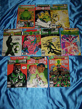 GREEN LANTERN Comics #191-200, 10 Issues, 1985-86, Very Fine Condition