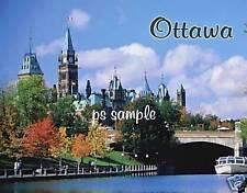 Canada - OTTAWA - Travel Souvenir Flexible Fridge Magnet