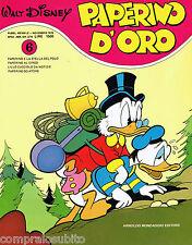 PAPERINO D' ORO Nr. 6 - Ed. Mondadori 1979