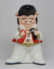 Ceramic Money Saving Bank Elvis Presley Piggy Bank Collectible Collection.Rock a