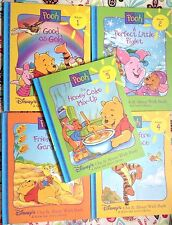 Lot of 14 Disney's Out & About With Pooh Grow & Learn Library c1996 VGC HC