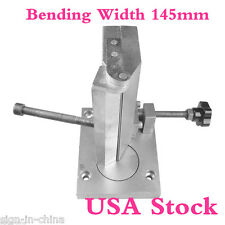 USA Stock-Dual-axis Metal Channel Letter Angle Bender Tools, Bending Width 145mm