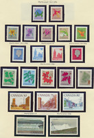 Canada Stamps Scott #705//727, Mint Hinged, 21 Different, Short Set