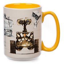 NEW DISNEY STORE WALL-E CONCEPT ART CHARACTER MUG CUP WALLE  PIXAR TINY FLAW