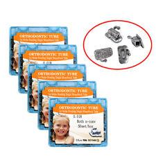5 boxes Dental orthodontic 1st molar buccal tube monoblock roth 018 50 sets