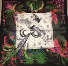 Foulard Carré  Hermes 90 Soie Mythiques Phœnix 2015 Collector Scarf 35 Silk