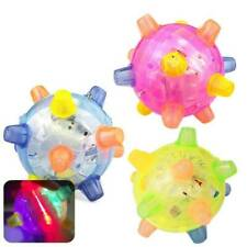 Jumping Flashing Dog Ball LED For Pets Dogs Toys Joggle Vibrating Changing Color