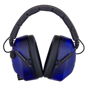 Electronics Noise Reduction Ear Muffs Hearing Protection Shooting Range woodwork