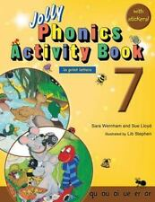 Jolly Phonics Activity Book 7 (in Print Letters) by Sara Wernham and Sue...