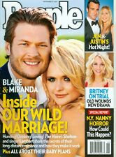 2012 People Magazine: Blake Shelton & Miranda Lambert Wild Marriage/Britney