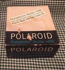 Vintage Polaroid Model 440 Photoelectric Shutter with Original Box