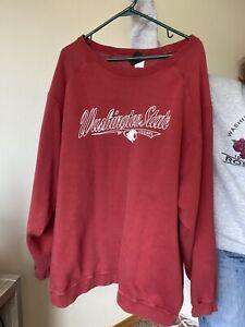 vintage Crewneck Sweatshirt wsu cougars Xxl Washington State Ncaa