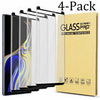 For Samsung Galaxy Note 9 Full Cover Case Friendly Temper Glass Screen Protector