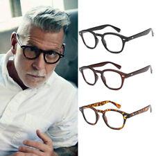 Stylish Retro Vintage Johnny Depp Fashion Mens Glasses Clear Lens Glasses Frame