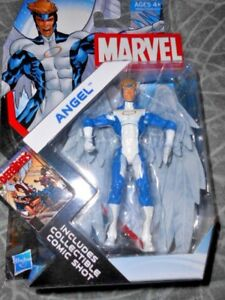 "ANGEL ( 4"" ) ( 2011 ) MARVEL UNIVERSE ( SERIES #4 ) X-MEN ACTION FIGURE #021"