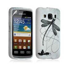 Housse coque étui gel pour Samsung Galaxy XCOVER S5690 motif LM01 + Film protect
