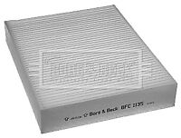Borg & Beck Interior Air Filter Cabin Pollen BFC1135 - GENUINE - 5 YEAR WARRANTY
