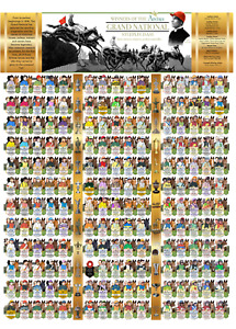 Aintree Grand National Winners Poster A0