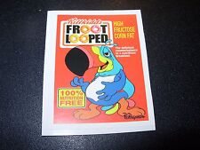 """RON ENGLISH POPAGANDA Cereal Froot Loope 2.5"""" Sticker decal frm poster art print"""