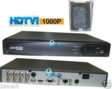 HD-TVI 8 ch channel DVR 1080p Hikvision OEM HDTVI Hybrid TVI/Analog/IP WITH 2TB