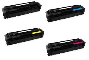 4x Toner-Kartusche für HP 201X LaserJet  M252n M25dw MFP M274n M277n M277dw