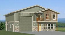 40x42 House -- 3 BR 2.5 Ba 1-RV Garage - PDF Floor Plan - 1,619 sqft - Model 2D