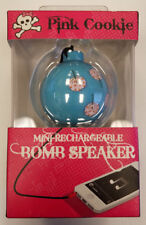 PINK COOKIE Mini-Rechargeable Bomb Speaker Keychain (#2B-C0007D)