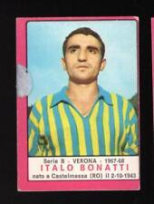 figurina CALCIATORI PANINI 1967/68 REC. VERONA BONATTI