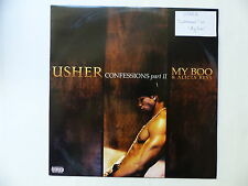 "MAXI 12"" USHER Confessions part II MY BOO & ALICIA KEYS 828766552812"