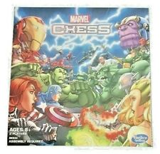 Marvel Chess Set Board Game 2015 Heroes Vs Villains New Factory Sealed