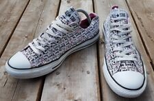 "CONVERSE CTAS Low Top ""He Loves Me He Loves Me Not"" Sneakers UNISEX Sz M 9/ W 11"