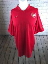 Arsenal Football Shirt Authentic Nike Adult XL  Training Kit Gunners Vgc