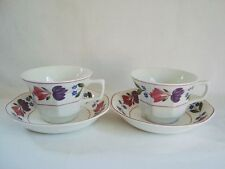 British Adams Pottery Cups & Saucers