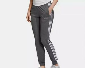 NWT adidas Ladies' French Terry Jogger SWEATPANTS GRAY GREY