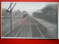 PHOTO  HEBDEN BRIDGE RAILWAY STATION FROM WEST 9/3/85 VIEW FROM CAB