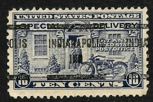 """""""Indianapolis IND"""" Preancel 10 Cent Special Delivery Early BOB 12B53"""