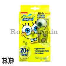 Kids All-In-One Infused Gel Sponge Body Wash - Spongebob Squarepants
